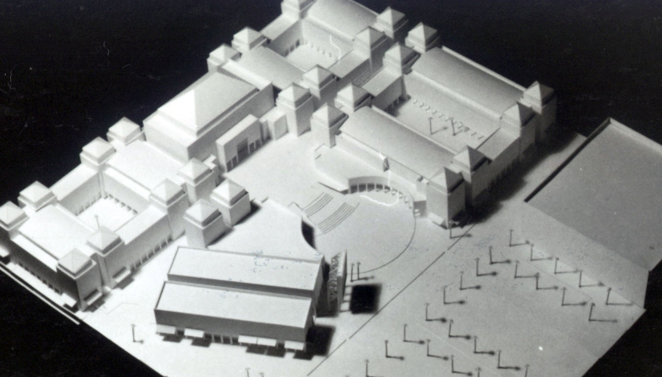 Mixed Use / Public-Private Urban Campus Model